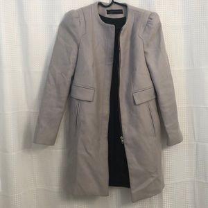 Zara Grey Peacoat